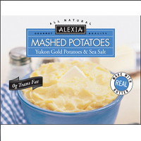 Alexia Mashed Potatoes & Sea Salt