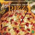 Amy's 3 Cheese Pizza with Cornmeal Crust