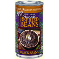 Amy's Organic Refried Black Beans - Light in Sodium