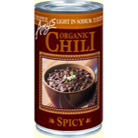 Amy's Organic Spicy Chili - Light in Sodium