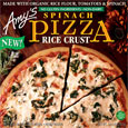 Amy's Rice Crust Spinach Pizza