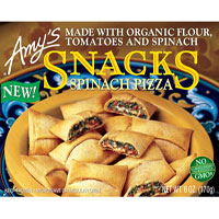 Amy's Spinach Pizza Snack