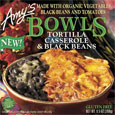 Amy's Tortilla Casserole & Black Beans Bowl