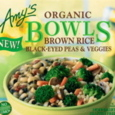 Amy's Brown Rice, Black-Eyed Peas & Veggies Bowl