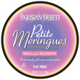 Barry's Bakery Parisian Sweet Petite Meringues Rainbow Vanilla