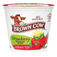 Brown Cow  Cream Top  Strawberry