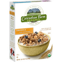 Cascadian Farm Oats & Honey Granola
