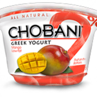 Chobani 2% Mango Greek Yogurt