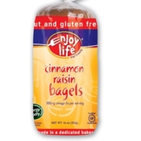 Enjoy Life Foods Cinnamon Raisin Bagel