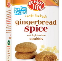Enjoy Life Soft Baked Gingerbread Spice Cookies