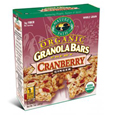 Natures Path Cranberry Ginger Granola Bars