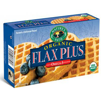 Natures Path Flax Plus Frozen Waffles