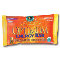 Natures Path Optimum Energy Bar - Peanut Butter