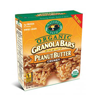Natures Path Peanut Butter Granola Bars