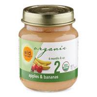 Wild Harvest Organic Apple Bananna Baby Food