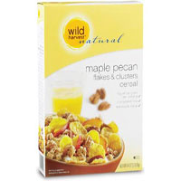 Wild Harvest Organic maple pecan flakes and clusters