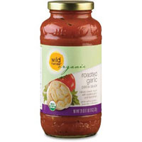 Wild Harvest Organic roasted garlic pasta sauce