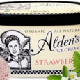 Alden's Ice Cream Organic Strawberry