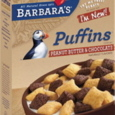 Barbara's Bakery Peanut Butter & Chocolate Puffins