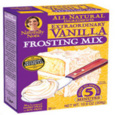 Naturally Nora Extraordinary Vanilla Frosting Mix