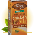 Pacific Natural Foods Organic Low Sodium Chicken Broth