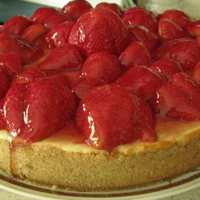 Creamy Strawberry Cheesecake