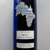 Badger Mountain Columbia Valley Cabernet Sauvignon